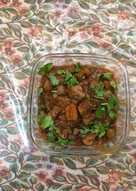 Butter mushroom masala