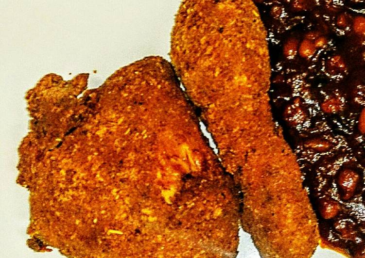 Tex's KFC Style Fried Chicken 🍗🌿🇺🇸 Recipe by Tex - Cookpad Kenya