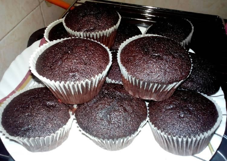 Chocolate N Coffee Cup Cakes Recipe By Catherine Njoki Cookpad Kenya