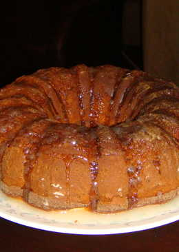 Lemon Pecan Bundt