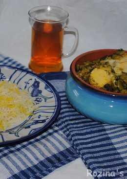Baghala ghatogh (Persian fava beans stew)#familyfriendly
