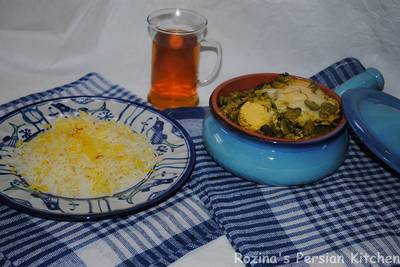 Baghala ghatogh (Persian fava beans stew)#familyfriendly