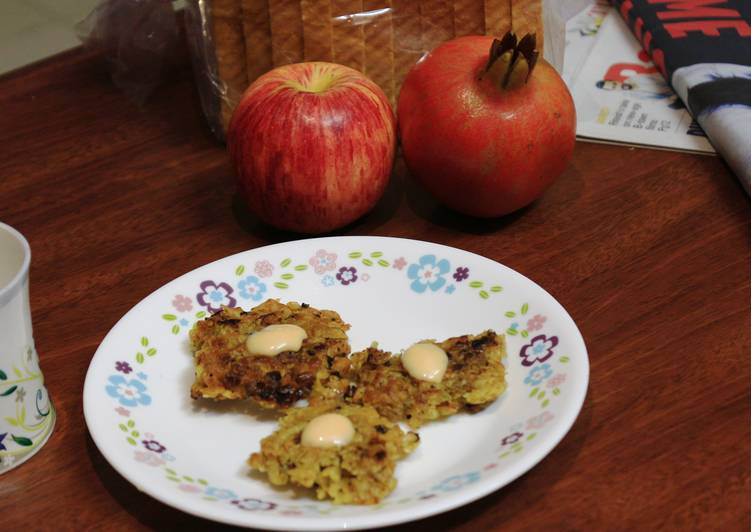 Tapioca Hash Browns with an Indian touch