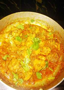 Spicy Andhra Chicken Curry #FIHRCookPadContest
