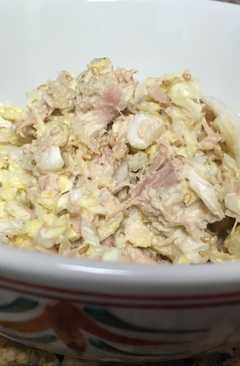 resep masakan chinese cabbage and tuna salad