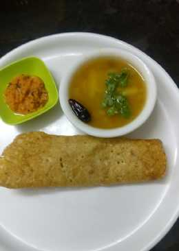 Foxtail millet dosa