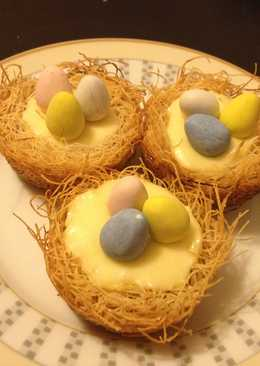 Kataifi Cheesecake Nests