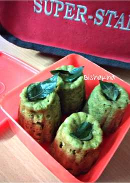 Spanich Moong Dal Dhokla  #Kids Tiffin