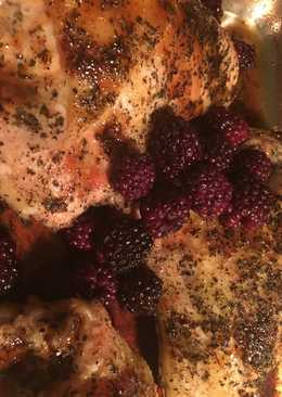 Blackberry Basil Chicken Breast