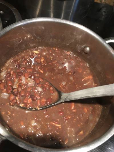 Weeknight Black Beans