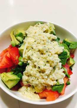 Onion salad dressing