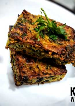 Baked Spicy Vegetable Cake