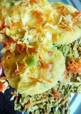 Cabbage moong daal idli#ingredient3