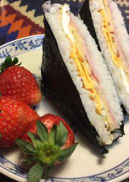 Japanese Rice Sandwich