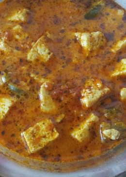 Paneer methi curry