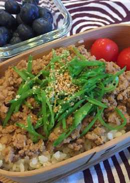 Chicken soboro Bento Box 鶏そぼろ弁当