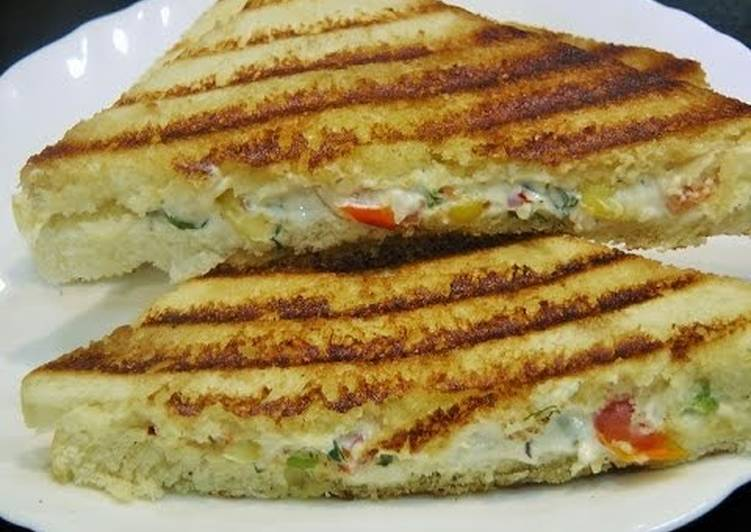 Image result for curd vegetable sandwich