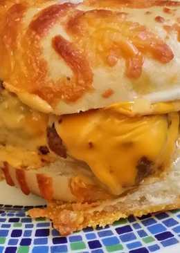 Brad's cheesey meatball sandwich