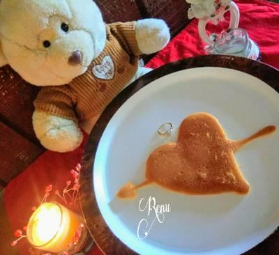 Heart ❤️Shape Pan Cake