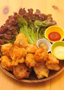 ☆Chicken Nuggets with Nagaimo Yam☆