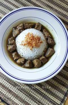 resep masakan beef black soup rawon