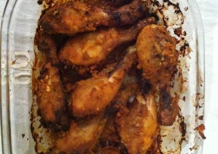 Spicy Baked Chicken (Chicken legs)
