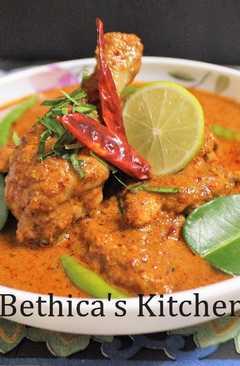 resep masakan thai panang chicken curry