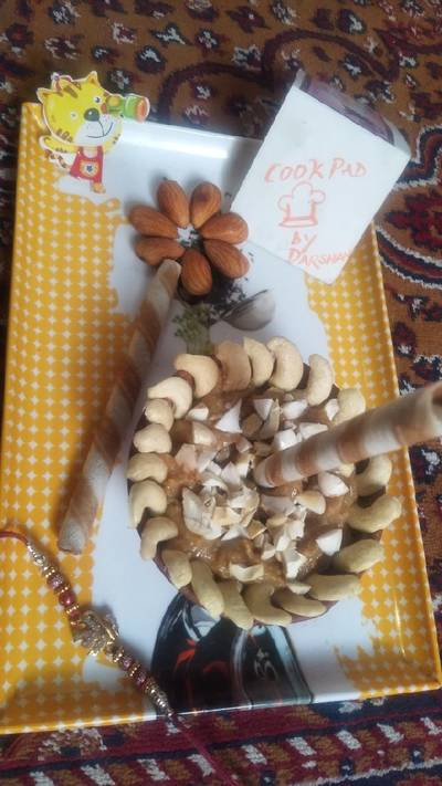 Dry fruits delight