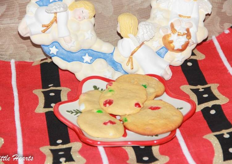 Santa S Ugly M M Christmas Cookies Recipe By Little Hearts Cookpad