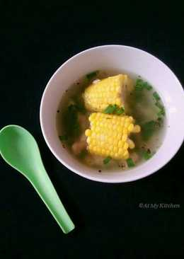Chicken Corn On The Cob Clear Soup