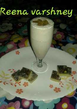 Khoya choclate milk drink