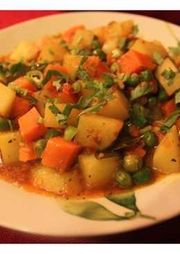 Mixed Sabzi - Mixed Vegetables Masala