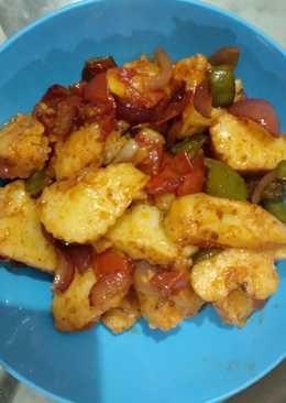 Fried idli