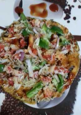 Methi Thepla Pizza