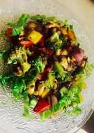 Brocolli & Mushroom stir fry