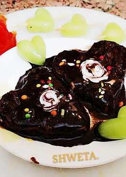 Chocolatey fruity flavour cake