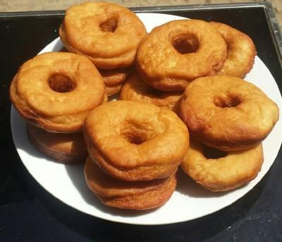 Orange doughnut