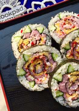 Rose Sushi Roll