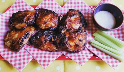 Sticky bbq chicken