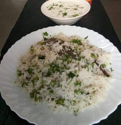 Jeera onion rice