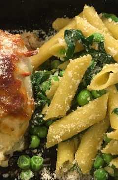 resep masakan crab artichoke spinach rollatini