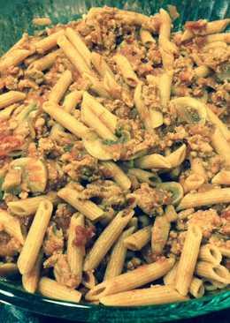 Turkey Mushroom Pasta