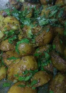 Chatpate Raja (Masala Potato Fry)