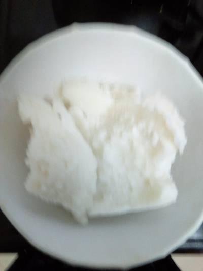 Tuwon masara(maize flour)