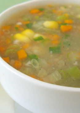 Veggie Chicken Soup