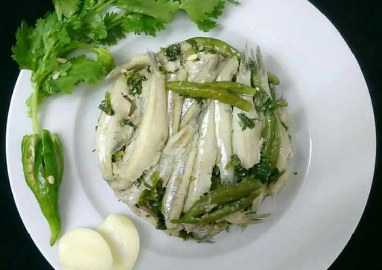 Steamed Small Fish