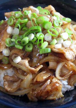 Pork Shogayaki (Ginger Pork) Don