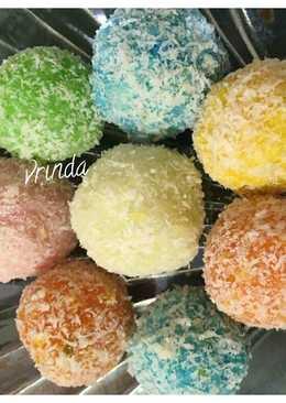 Rainbow Coconut Balls