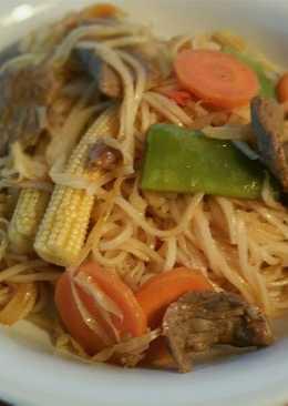 Ebi's Stir Fry Noodles