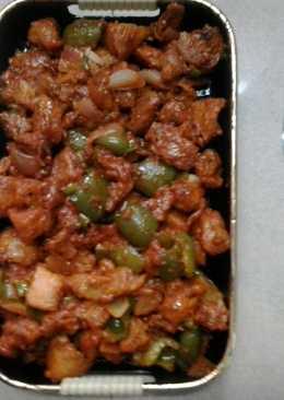 Sweet chilli pork